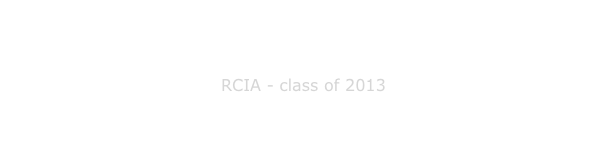 RCIA - class of 2013